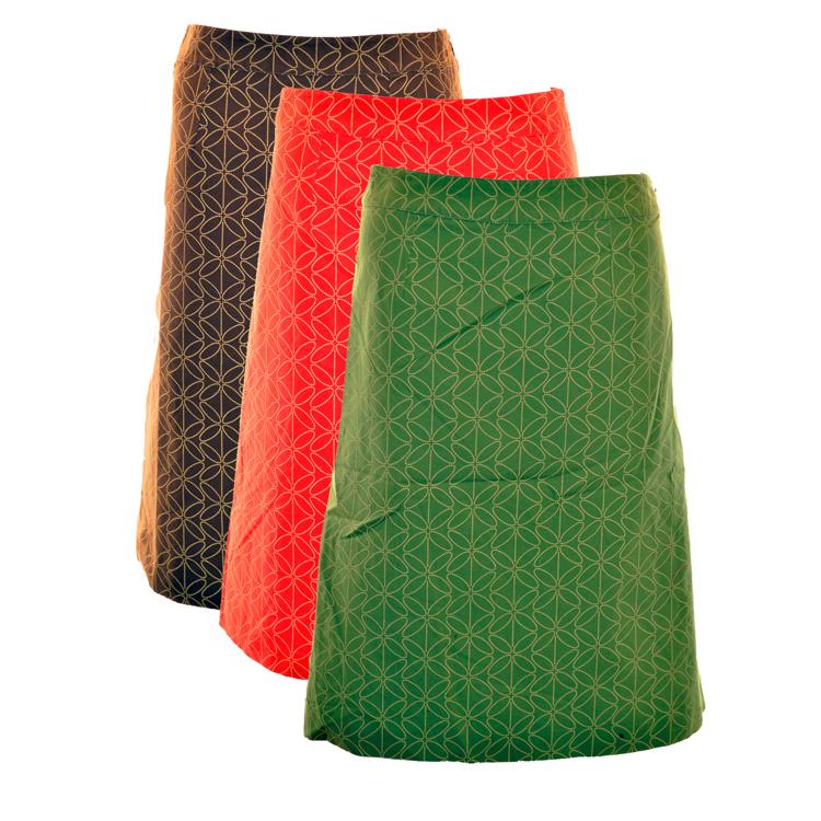 boden verde rosso marrone un gonna in linea taglia gb 8 10 12 20 ebay. Black Bedroom Furniture Sets. Home Design Ideas